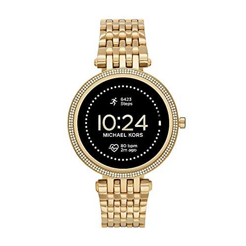 [Amazon.it] Michael Kors Damen Gen 5E Darci Touchscreen Smartwatch mit Lautsprecher, Herzfrequenz, GPS, NFC und Benachrichtigungen