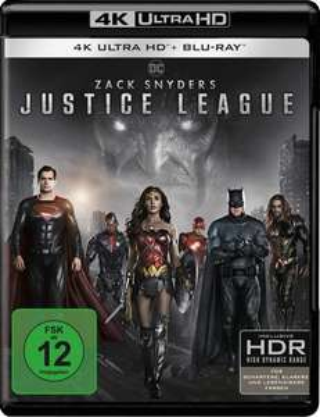 Bol.de: Zack Snyder's Justice League (4K Ultra HD) für 25,18€