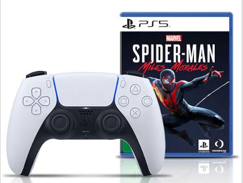 PS5 DualSense inkl. Spider-Man: Miles Morales @Gamestop