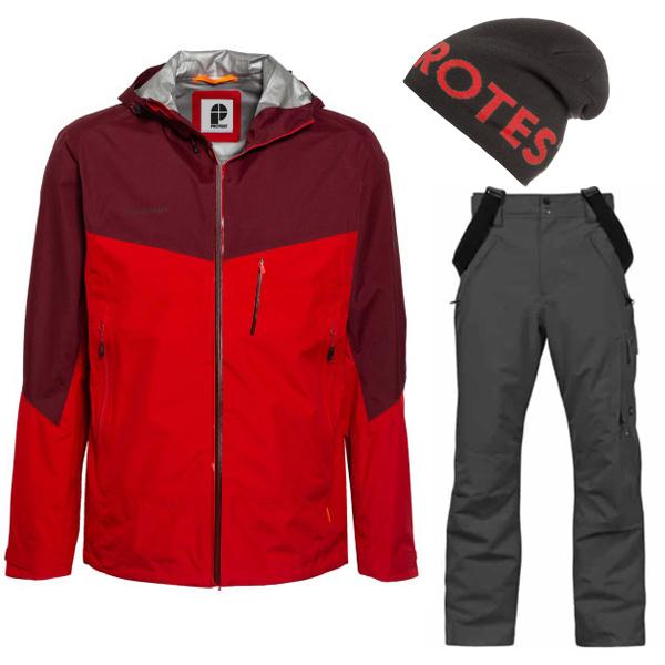 Protest - Geotech 10K Series Komplettset - Regenjacke Hose und Mütze (nur noch Größe S)