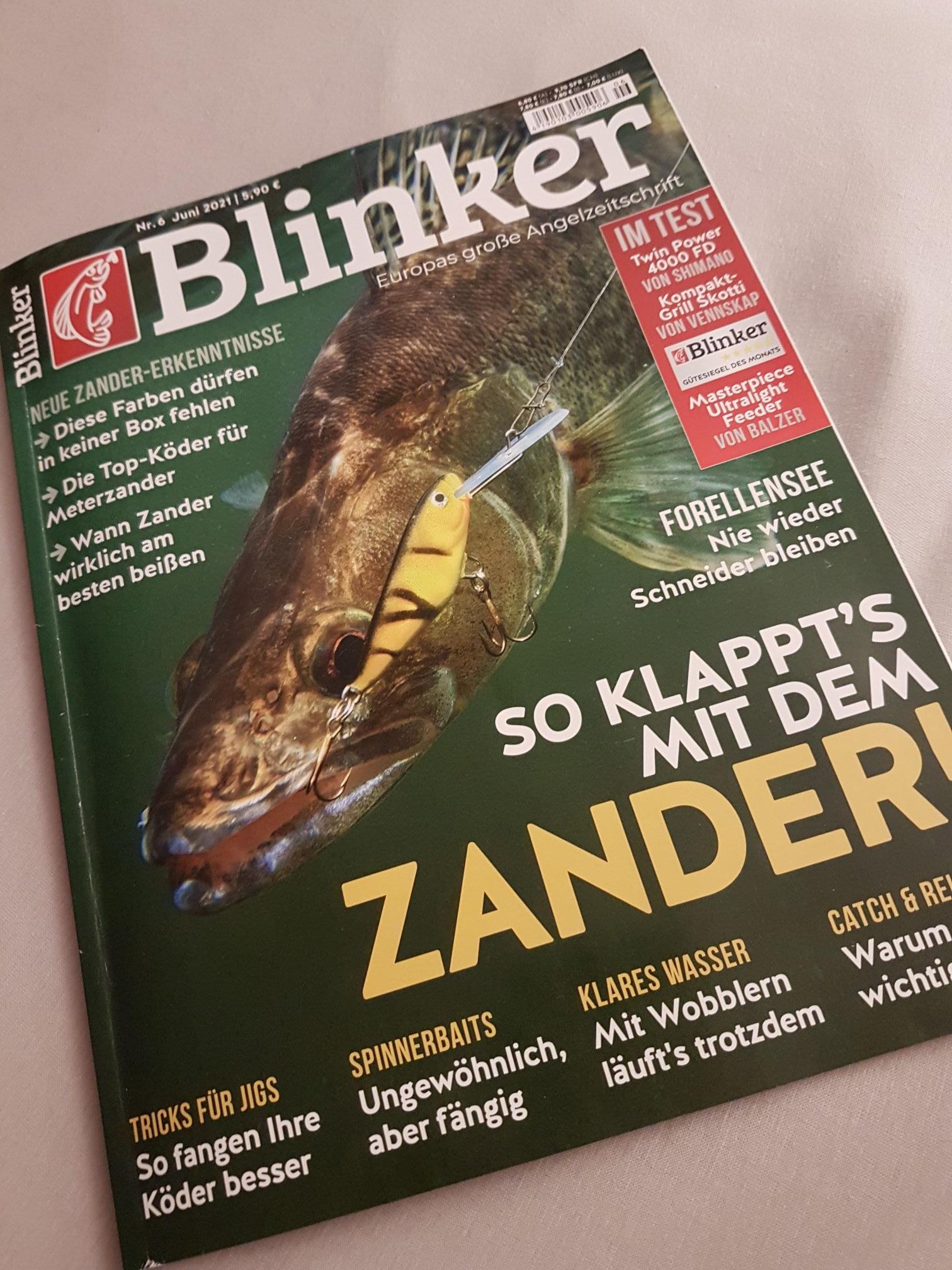 Blinker Jahresabo für 74,4€ mit 70€ Amazon-Gutschein durch KWK