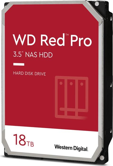 WD Red Pro WD181KFGX Festplatte HDD - 18 TB 7200 rpm 512 MB 3,5 Zoll SATA 6 Gbit/s