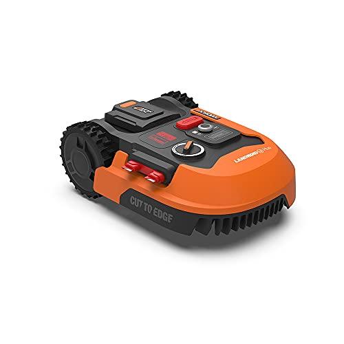WORX Landroid M500 PLUS WR165E Mähroboter für Gärten bis 500 qm mit WLAN, Bluetooth und schwimmendem Mähdeck