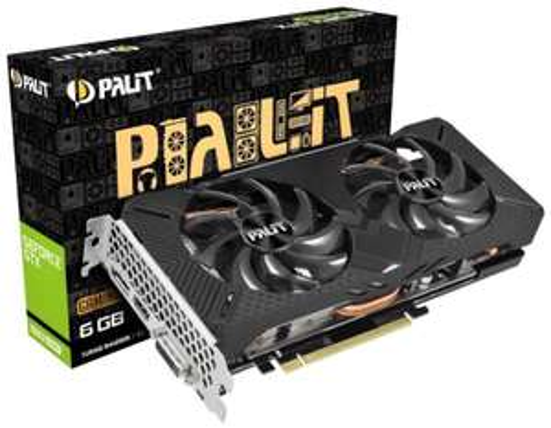 Palit GeForce GTX 1660 SUPER GP OC 6 GB OC Mid Range Grafikkarte bei Computeruniverse für 449,99€