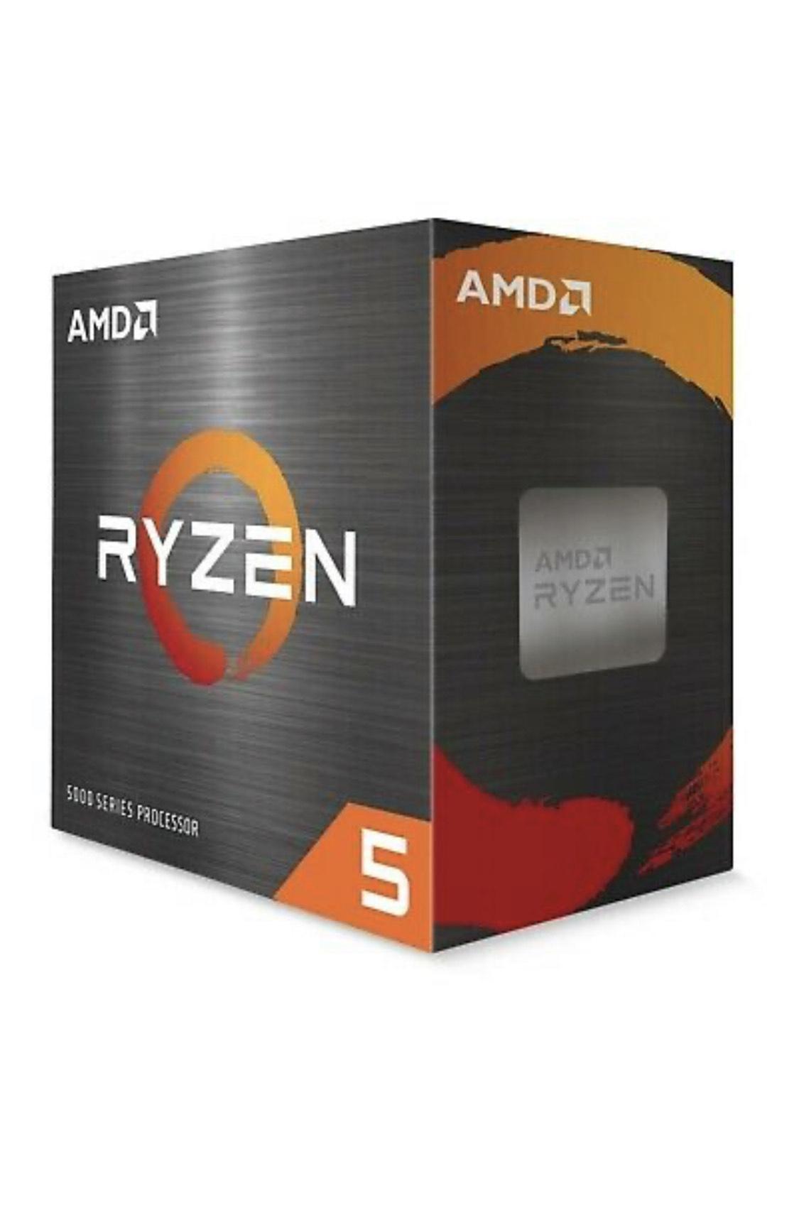 AMD Ryzen 5 5600X Boxed Prozessor, 6C/12T, 3,7GHz-4,6GHz, 100-100000065BOX (Ausstellungsstück)