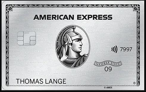 Amex Platinum KWK mit 75.000 MR (=375 € in PB) plus Chance auf 1 Mio MR