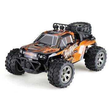 MGRC Crawler RC Car (1:18, 15-25km/h, ~15min Akku, 2.4GHz-Fernsteuerung)
