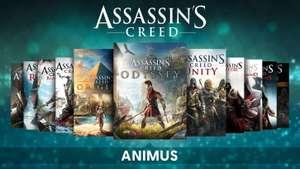 [PC Ubi Connect] Pack Assassin's Creed Animus: alle spiele und DLCs except Valhalla