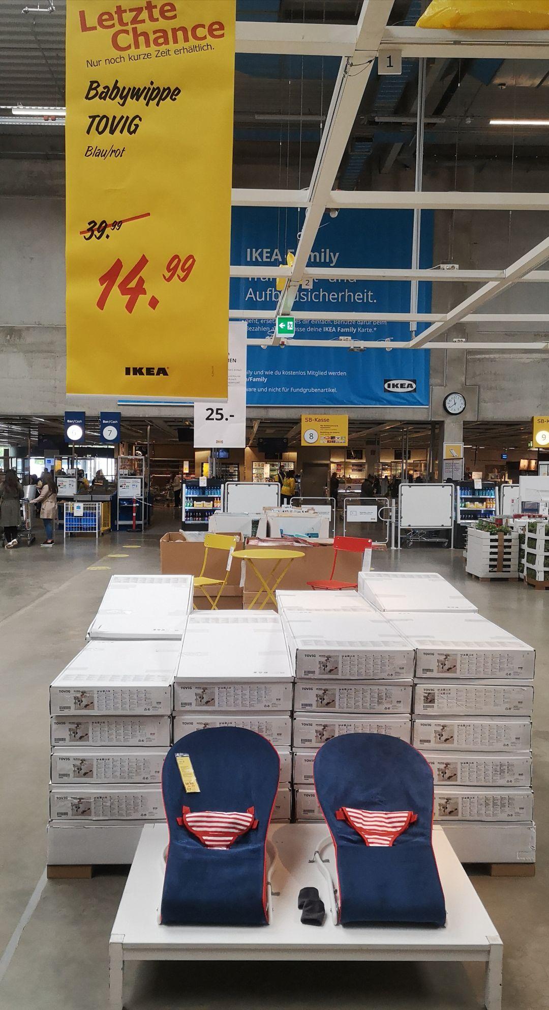 Ikea Berlin Tempelhof - Babywippe Tovig