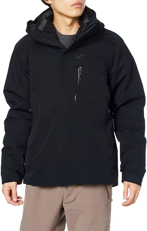 Millet 3in1 Jacke für Herren Black - Noir (XL, XXL)