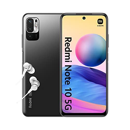 [Amazon] Xiaomi Redmi Note 10 5G - 64/4GB (MT Dimensity 700, Dual-Sim 5G, 5000mAh Akku, 48 MP Triple-Kamera, NFC: Google Pay, 18 W)