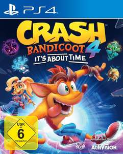 PS4 CRASH BANDICOOT 4-IT S ABOUT TIME + 1x Suprise Game