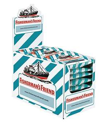 Amazon Prime: 24 Päckchen Fisherman's Friend,Sorte Spearmint ohne Zucker mit je 25 Gramm Inhalt, mit 5 Abo für nur 12,52 € möglich,