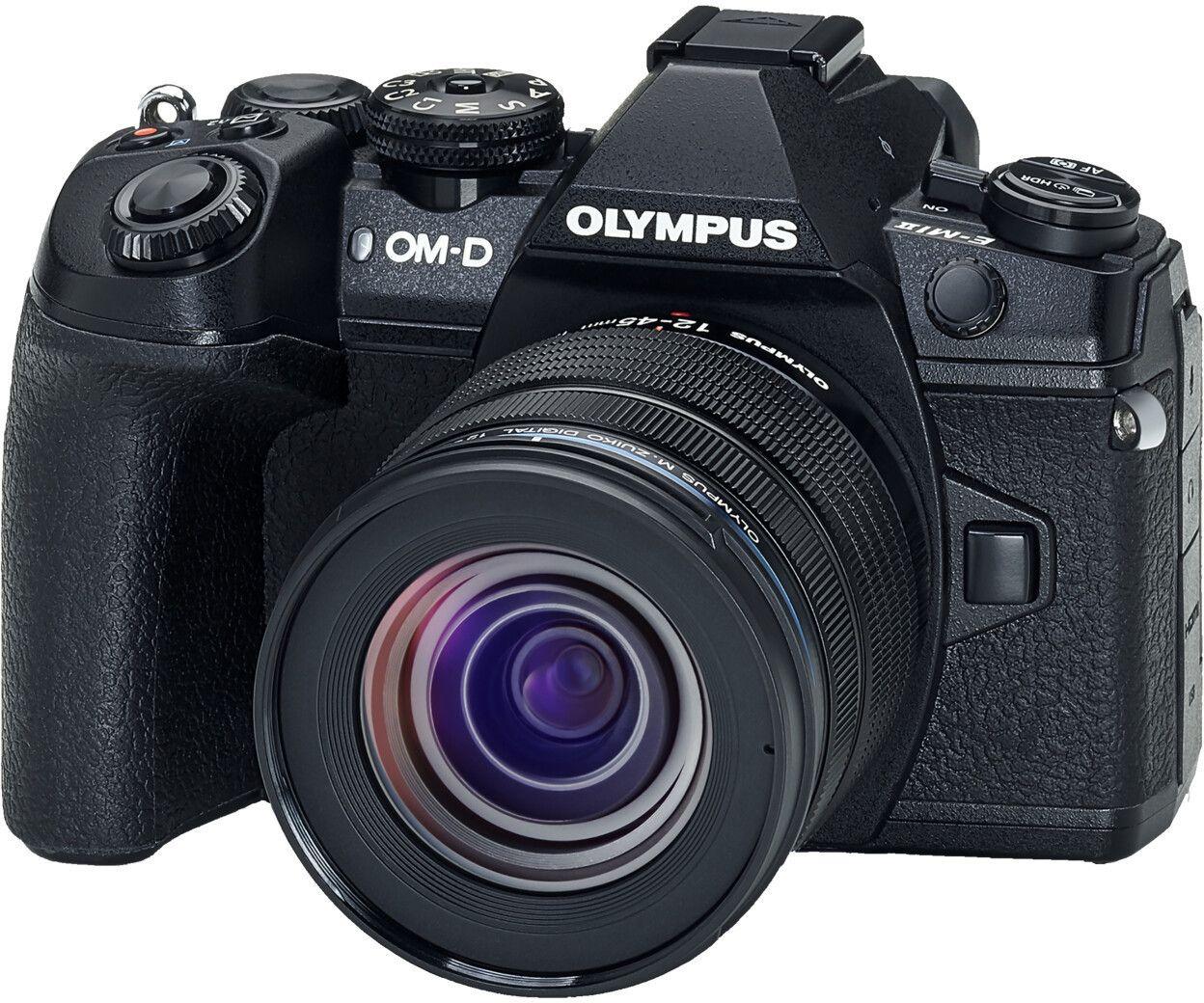 Olympus OM-D E-M1 Mark II MFT Systemkamera inkl. 12-45mm F4 Objektiv oder inkl. 12-40mm F2,8 Objektiv für 1199€