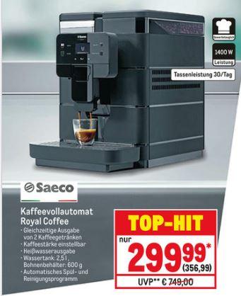 [METRO] Saeco Royal Coffee Kaffeevollautomat
