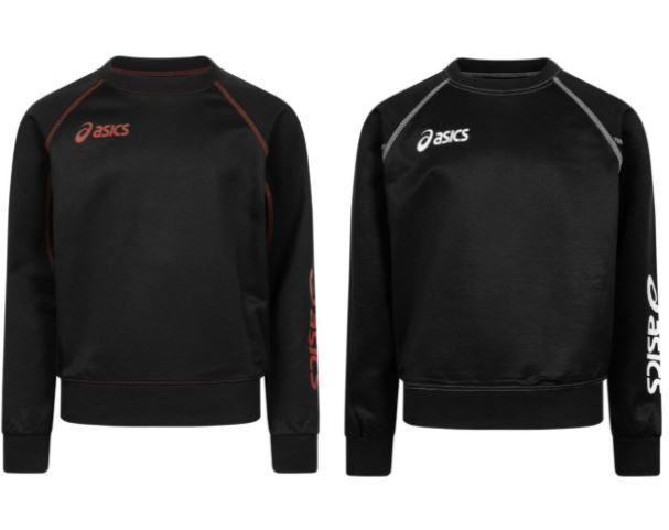asics Alpha Jungen Sweatshirt (Größen 116 bis 152)