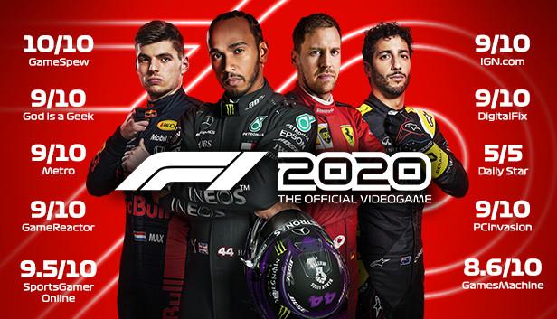 F1 2020 kostenlos spielbar bis Montag @ Steam und Xbox
