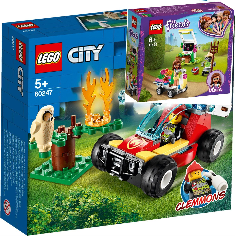 Versch. Lego Sets z.B. Lego Friends Olivias Blumengarten 41425 oder Lego City Waldbrand 60247, Netto