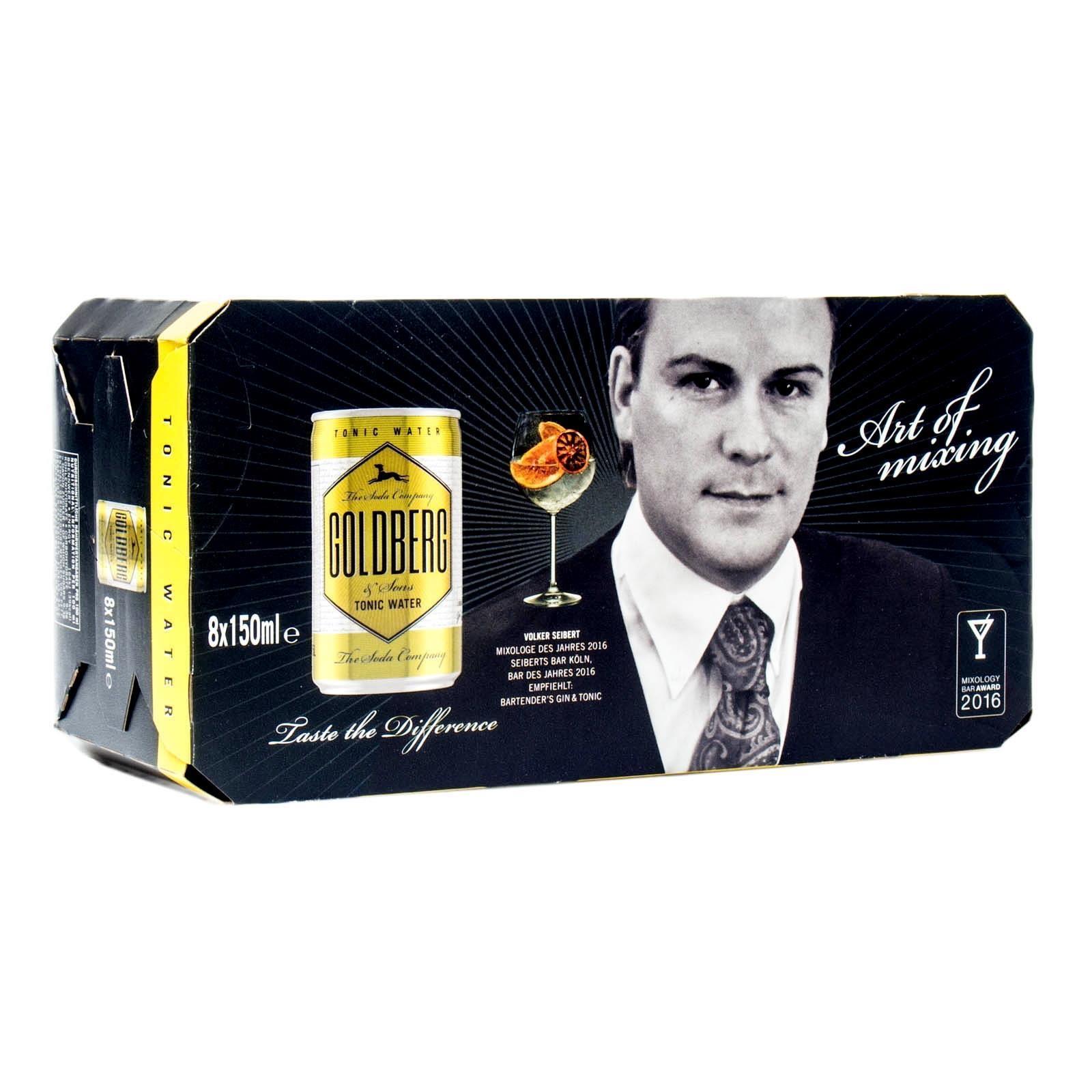 72 Dosen Goldberg Tonic 0,15l für Gin Tonic ink. Versand für 32,81 EUR