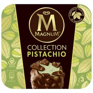 """Penny""""Framstag"""" : Lagnese MAGNUM im 3er Pack, Double Cold Caramel oder Collection Pistazie ( 255ml / 300ml Packung )"""