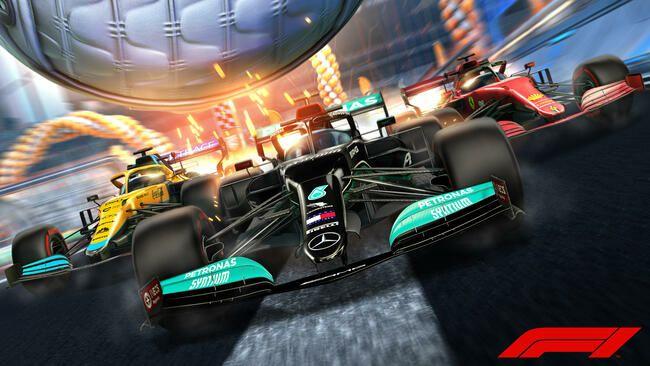 Rocket League Formula 1 Spielerbanner