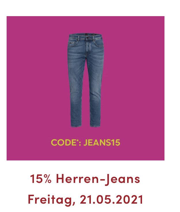 20% auf Jeans für Karten Inhaber (15% wenn ihr keine Karte habt)