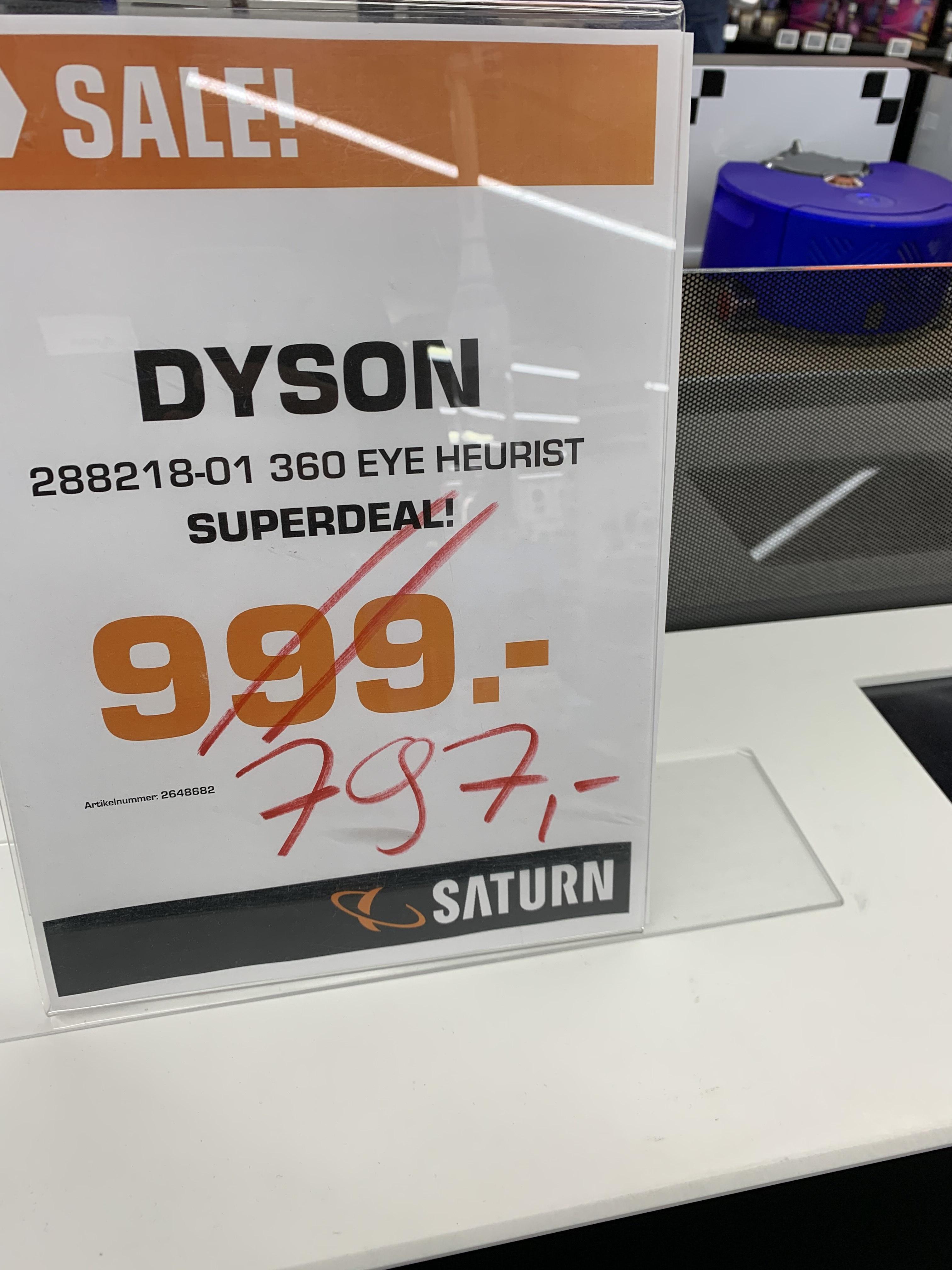 Dyson Heurist 360 Saugroboter [Lokal Saturn Hannover am Hbf]