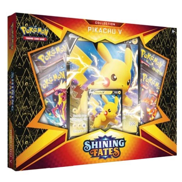 Pokemon Shining Fates Pikachu-V Englisch