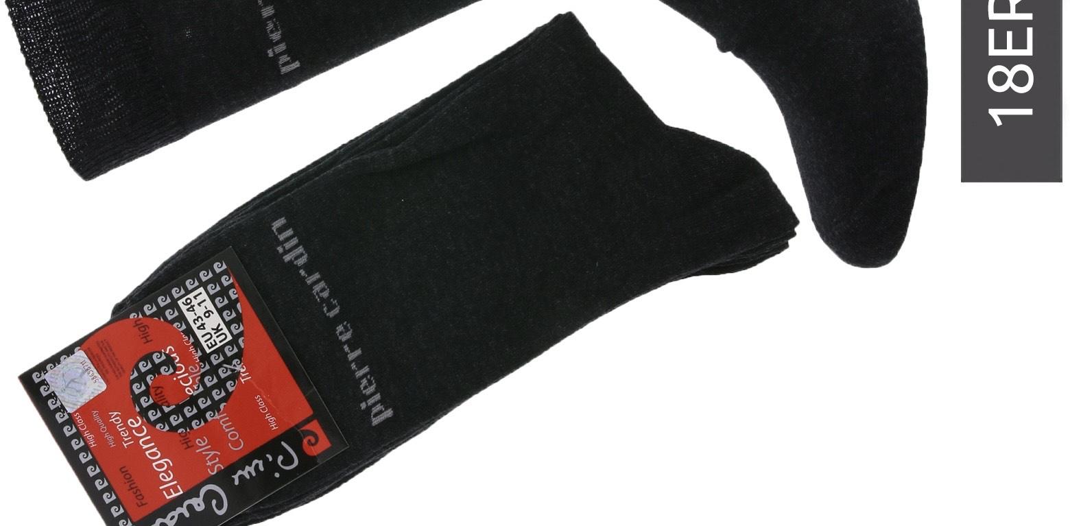 18 Paar Pierre Cardin® Herren Business-Socken, Baumwoll-Socken, Anzug-Socken Kostenloser Versand mit Prime.