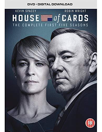 House of Cards Staffeln 1-5 (DVD) (UK Import) (mit dt. Tonspur und dt. Untertiteln)