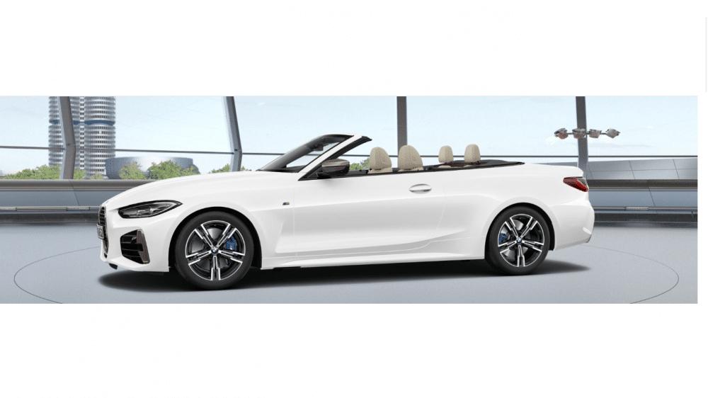Privatleasing mit Eroberung: BMW M440i xDrive Cabrio, 615€ brutto (Ohne Anzahlung für 48 Monate und 10000km pro Jahr): LF 0,80