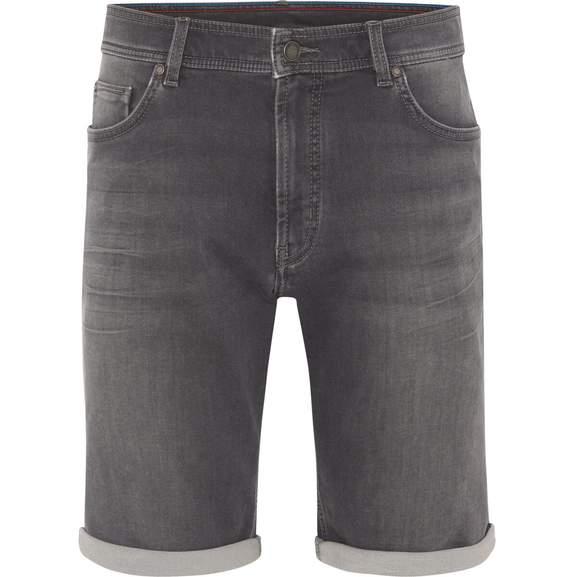 25 % Rabatt auf reguläre und reduzierte Jeanshosen bei Galeria - z.B. Dunmore Jeans-Bermudas, 5-Pocket, Beinumschlag, Waschung, für Herren