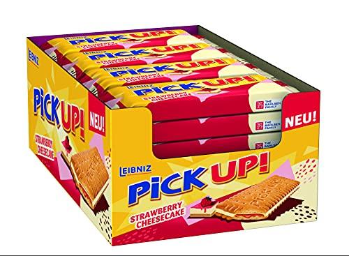 Thekendisplay Leibniz PiCK UP Strawberry Cheesecake (24 x 28 g)
