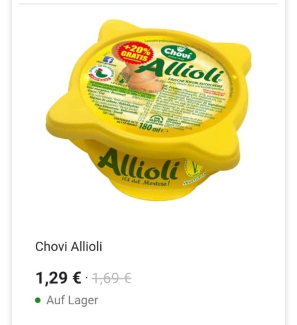 (Kaufland) Chovi Allioli