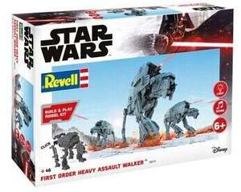 REVELL First Order Heavy Assault Walker Modellbausatz, Mehrfarbig [Saturn Abholung]