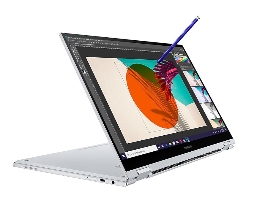 """[CB] Samsung Galaxy Book Flex (15.6"""" FHD QLED 600nits, S-Pen, i7-1065G7, 16/512GB SSD, MX250, 2 x TB, 69.7Wh, 65W Laden, 1.57kg)"""