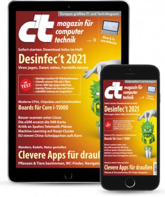 Desinfec't 2021 in der 12 / 21.05.2021