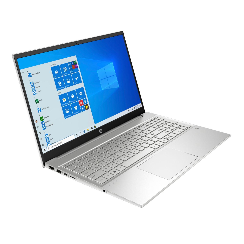 "HP Notebook 15-eh1557ng, ALU, 15.6"" IPS+FHD, Ryzen 5 5500U, 16+512GB 41Wh/8h 1.7Kg Win10 [Filiale]"