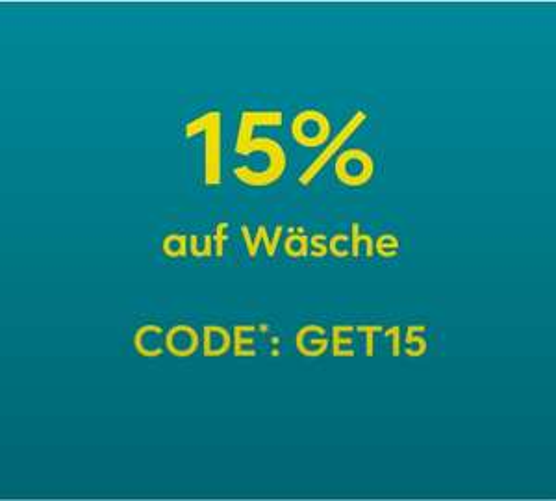 Breuninger 15% Rabatt auf Unterwäsche