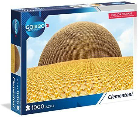 Clementoni Galileo Big Picture Million Buddhas Puzzle, Wat Phra Dhammakaya Tempel, 1000 Teile [Amazon Prime]