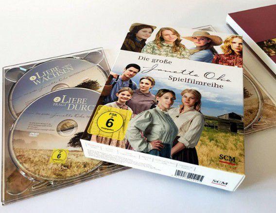 Die große Janette Oke-Spielfilmreihe [Siedler-Saga, 10 DVD (von 12)] (Stream 1 kostenlos auf Bibel TV bis 27.05.)
