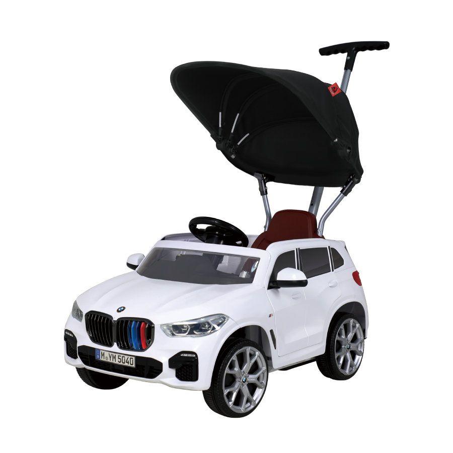 Rollplay 42133 Push Car mit ausziehbarer Fußstütze, Für Kinder ab 1 Jahr, Bis max. 25 kg, BMW X5M, weiß [Babymarkt]