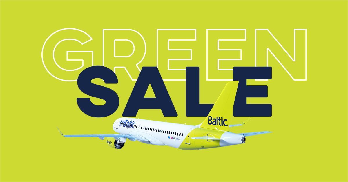 [airBaltic] Hin- und Rückflug nach Riga, Vilnius, Tallinn ab 63€