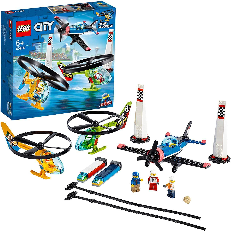 LEGO60260CityAirRaceSpielzeug,Flugzeug&Hubschrauber Spielset [Amazon Prime Marketplace]