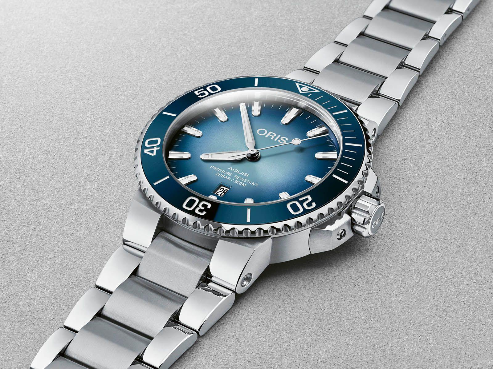 """Oris Aquis """"Lake Baikal"""" Limited Edition Diver 43,5 mm Automatikuhr"""