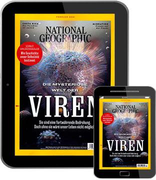 [h+f] National Geographic epaper (12 Ausgaben) für 49,96€ mit 45€/50€-Gutschein (incl. Amazon) o. 45€ Scheck   Kein Werber nötig