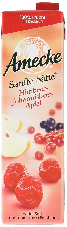 [Amazon Prime] 6x1L Amecke Saft - Himbeer - Johannisbeer - Apfel
