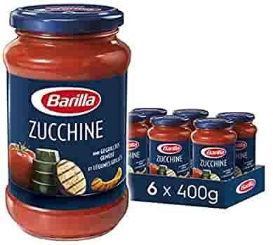 6x400g Barilla Pastasauce für Nudeln verschiedene Geschmäcker *vegan* – Prime*Sparabo*