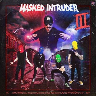 Masked Intruder - III - Vinyl neongrün [jetzt nur noch mecodu/dodax@Ebay] - Schallplatte, LP