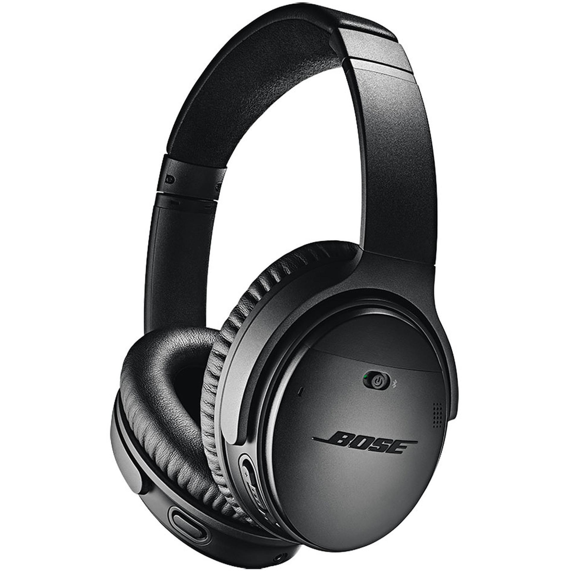 Bose QuietComfort 35 II: Bluetooth Kopfhörer (Active Noise Cancelling, 20h Akku, zwei Mikrofone, Google Assistant, NFC, Grauimport)